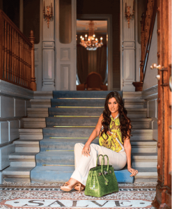 luxury_villa_zurich_woman_on_stairs